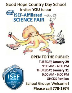 Intel ISEF - Affiliated Science Fair @ GHCDS Pavilion