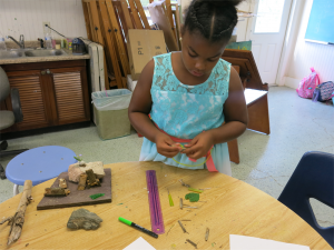 Fairy House Making