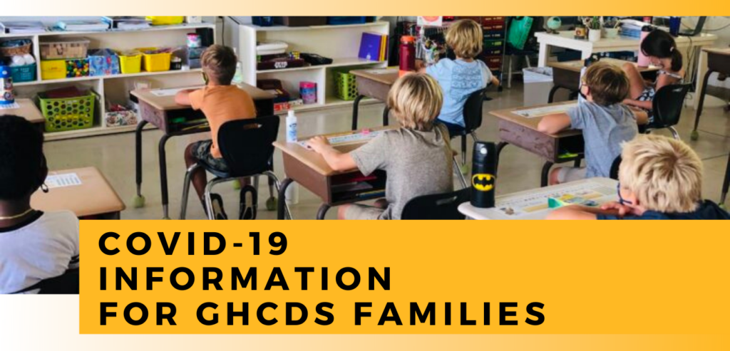 GHCDS Covid-19 Info for Families